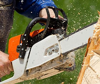 Why Chain Saws and Ladders Don't Mix